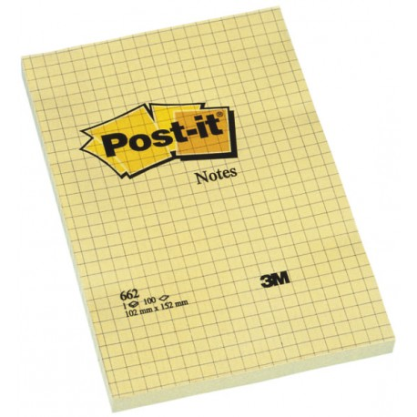 POST IT CON CUADRICULA 5x5mm