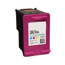 CARTUCHO DE TINTA HP 301XL COLOR RECICLADO COMPATIBLE