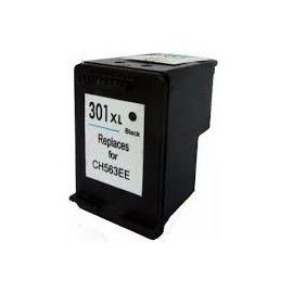 CARTUCHO DE TINTA HP 301XL NEGRO RECICLADO COMPATIBLE