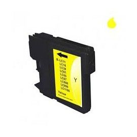 BROTHER LC1100 AMARILLO COMPATIBLE
